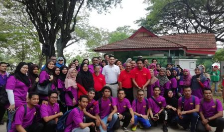 Bersama YM Raja Muda Selangor, Tengku Amir Shah Ibni Sultan Sharafuddin Idris Shah Alam