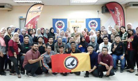 Bengkel Kerja Komuniti Latih Sukarelawan Siswa UNISEL