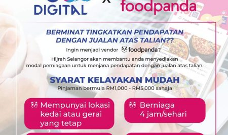Skim Pembiayaan Go Digital Hijrah Selangor x Foodpanda
